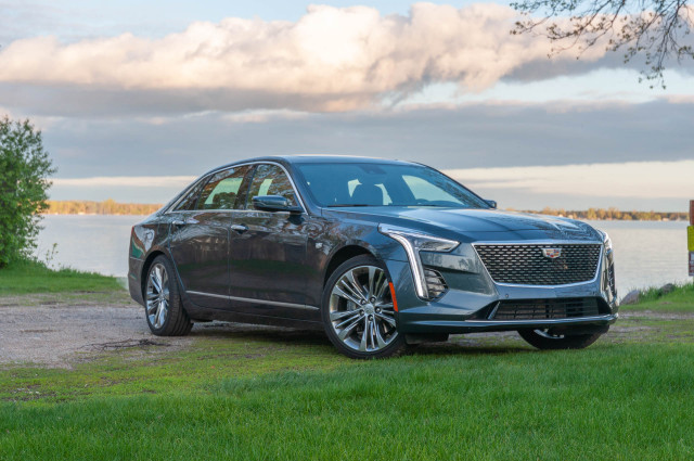 All-electric Mini Cooper, 2019 Cadillac CT6 driven, some