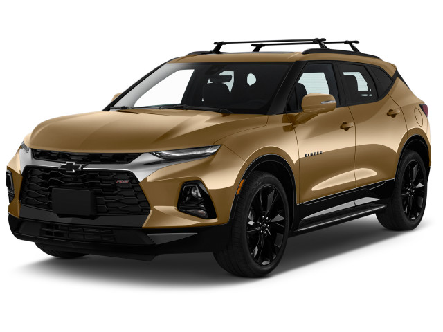 2019 Chevrolet Blazer AWD 4-door RS Angular Front Exterior View