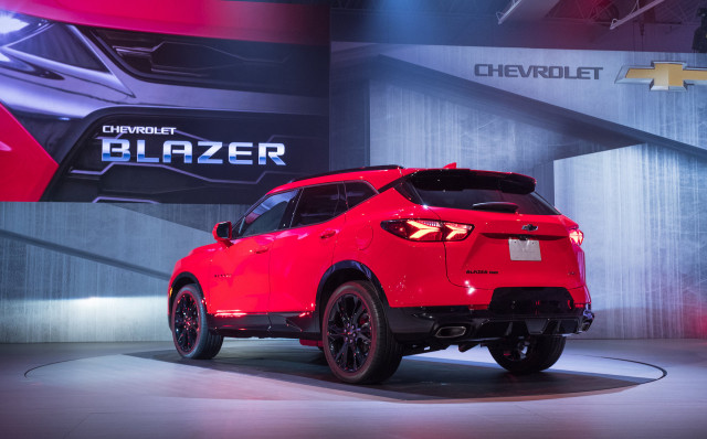2019 Chevrolet Blazer Suv Badge Returns On Mid Size Crossover