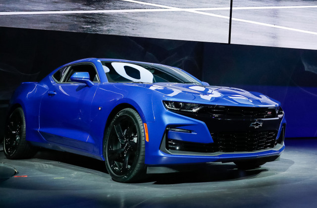 Chevy Camaro reveals radical new face