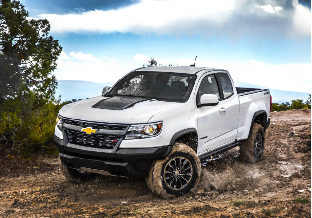 2019 Chevrolet Colorado Vs Chevrolet Silverado 1500 Gmc Canyon