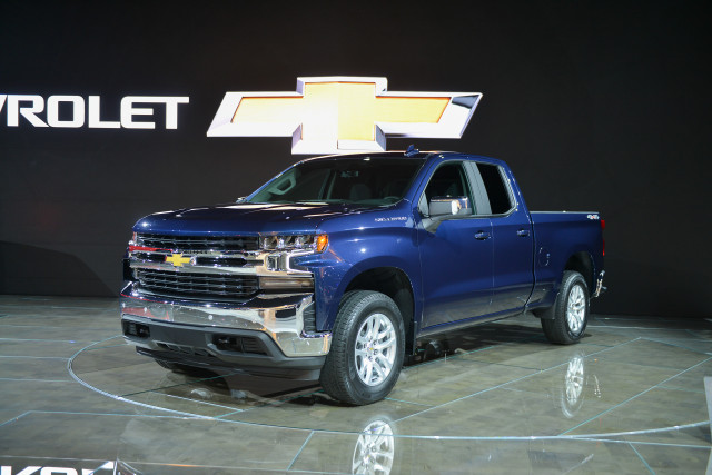 New 2019 Chevy Silverado pickup: planned for all ...