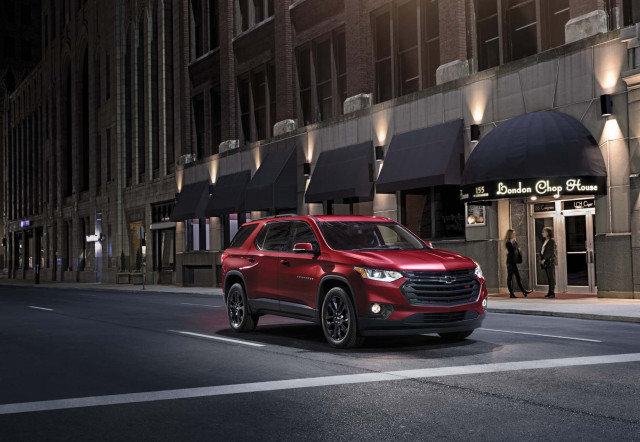 2019 Chevrolet Traverse drops optional turbo-4 engine