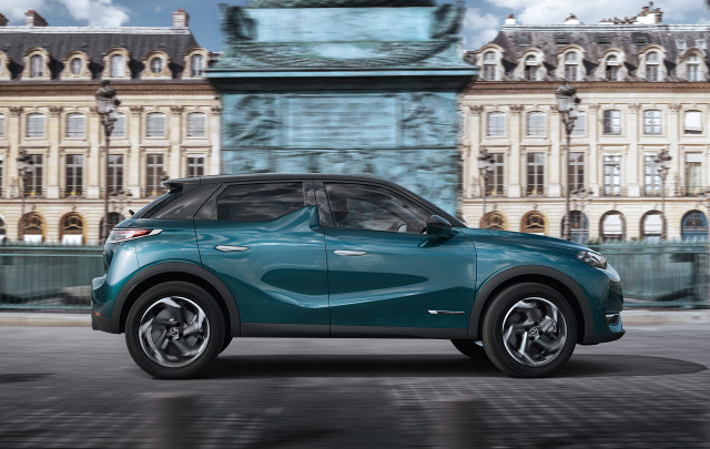 French Luxury Brand Ds Previews Electric Ds 3 Crossover Suv
