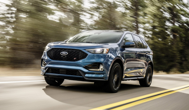 Hot Crossover  Ford Edge St To Cost