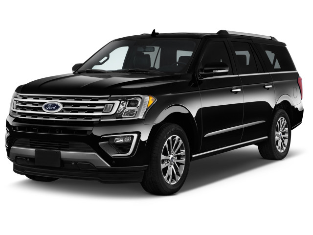 2019 Ford Expedition Max XLT 4x2 Angular Front Exterior View