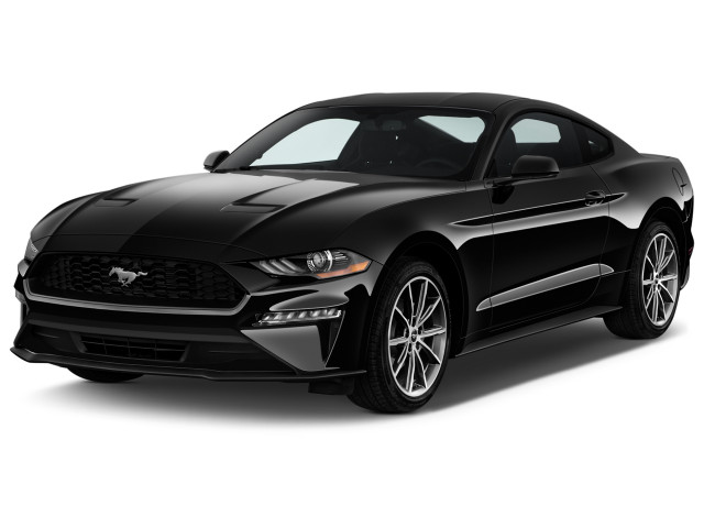 2019 Ford Mustang EcoBoost Fastback Angular Front Exterior View