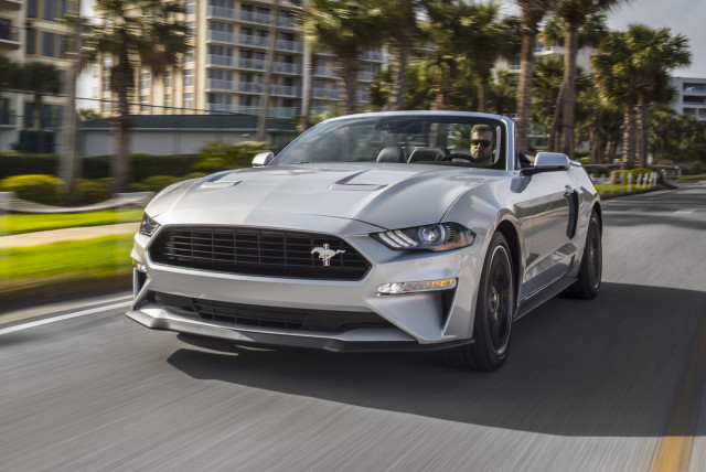 Ford Mustang Adds California Special, Rev-Matching Six-Speed Manual""