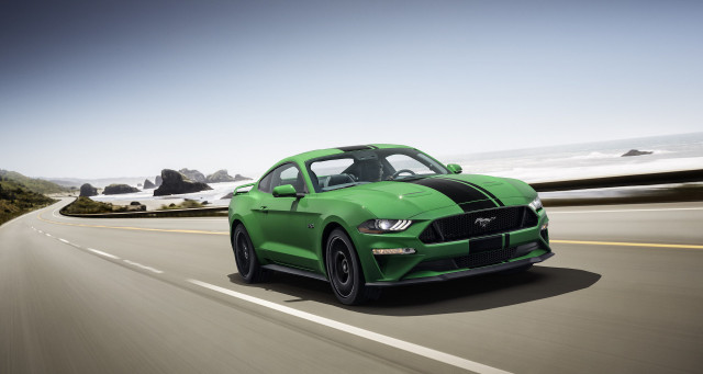 Top O The Morning There S A New Green Color For The Ford Mustang