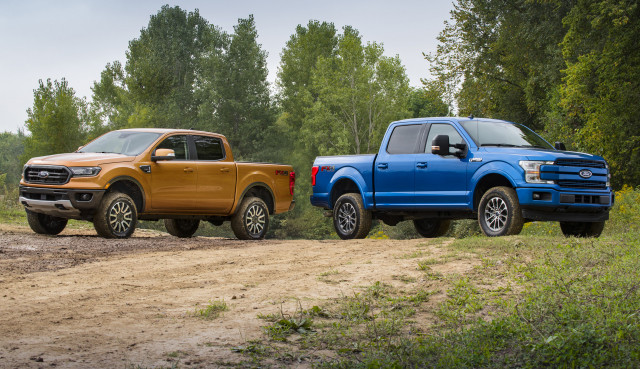 2020 Ford Ranger vs. 2020 Ford F-150: Compare Trucks