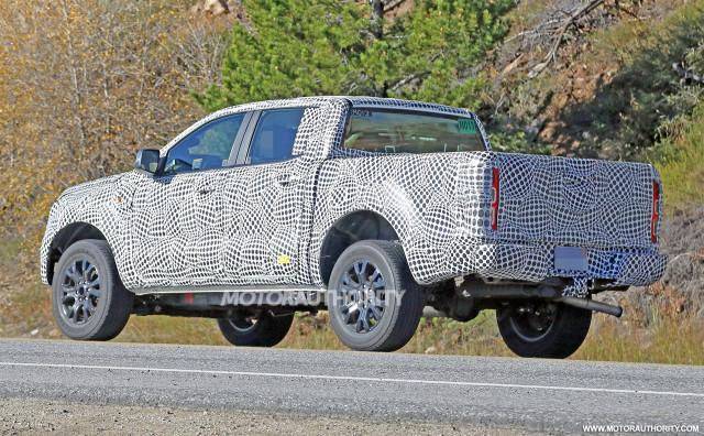 2019 Ford Ranger spy shots - Image via S. Baldauf/SB-Medien