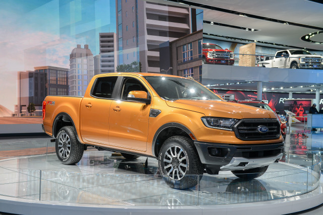 2019 Ford Ranger Pickup Truck Priced From 25 395