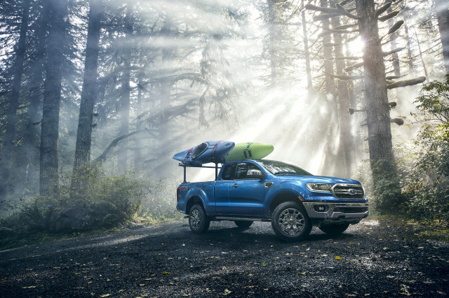 2019 Ford Ranger pickup truck to be rated as high as 23 mpg combined, Ford says