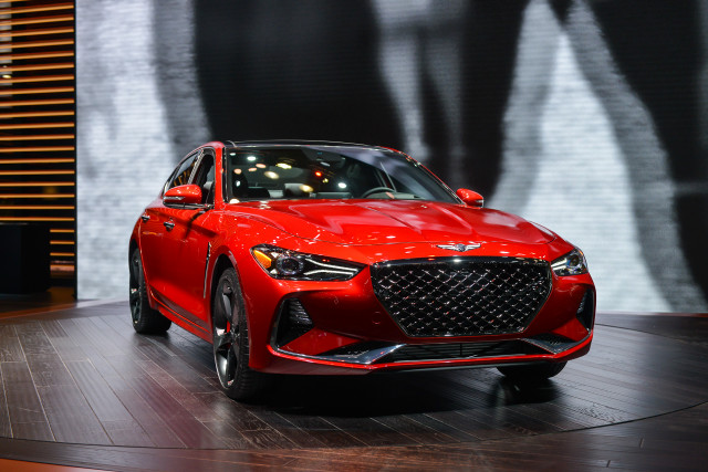 2019 Genesis G70 Makes Us Debut At 2018 New York Auto Show