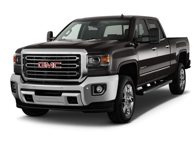 "2019 GMC Sierra 2500HD 2WD Crew Cab 153.7"" SLT Angular Front Exterior View"