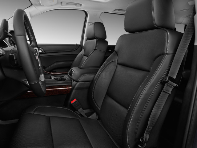 2019 GMC Yukon XL 2WD 4-door SLT Front Seats