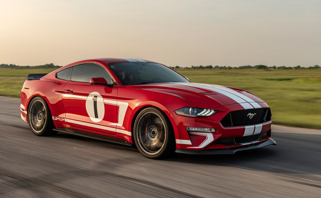 Ford Mustang Hennessey >> Hennessey S 10 000th Car Is An 808 Horsepower Ford Mustang