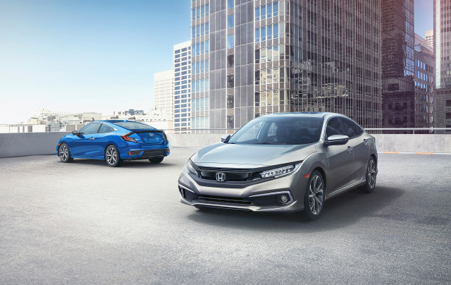 2019 Honda Civic adds active safety tech, price climbs to $20,345