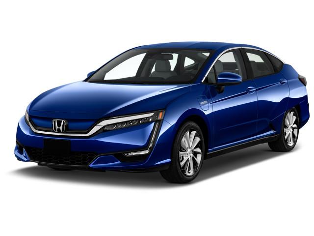 2019 Honda Clarity Electric Sedan Angular Front Exterior View