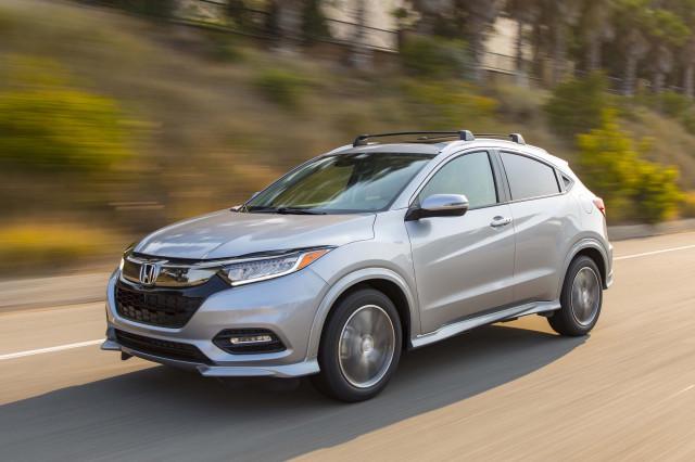 2019 Honda HR-V improves to Top Safety Pick
