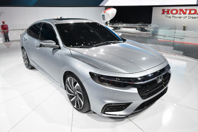 Honda Insight Prototype 2018 Detroit Auto Show
