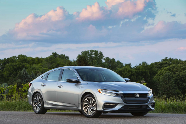 2020 Honda Insight hybrid sedan gets $135 price bump, efficiency stays the same