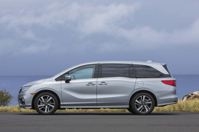 Honda Odyssey recalled over sliding doors that could open while driving