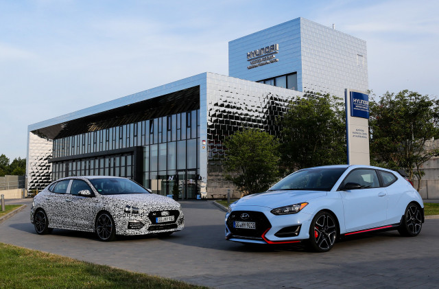2019 Hyundai i30 Fastback N and Veloster N