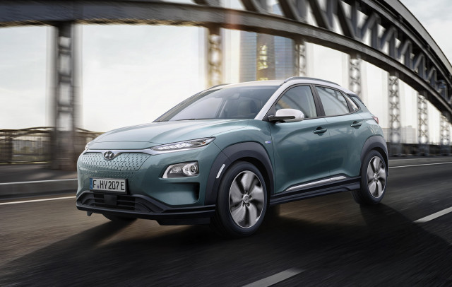Hyundai Reveals Kona Electric Vehicle
