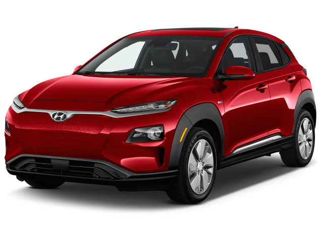 2019 Hyundai Kona Electric Ultimate FWD Angular Front Exterior View