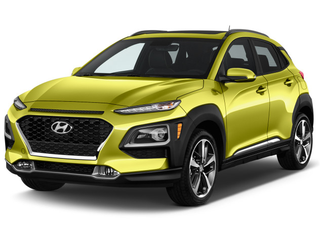 2019 Hyundai Kona Limited 1.6T DCT Angular Front Exterior View