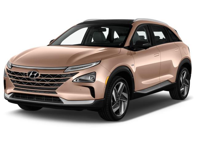 2019 Hyundai NEXO Limited FWD Angular Front Exterior View