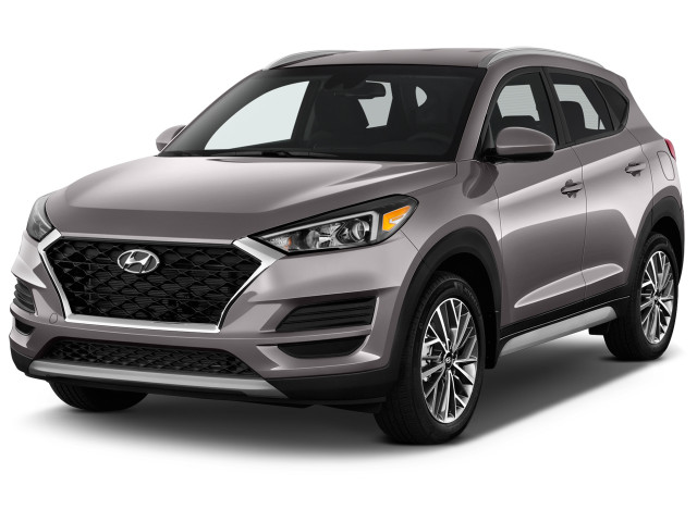 2019 Hyundai Tucson SEL FWD Angular Front Exterior View