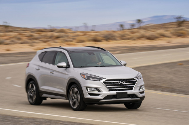 Active safety tech bumps 2019 Hyundai Tucson crossover SUV price to $24,245