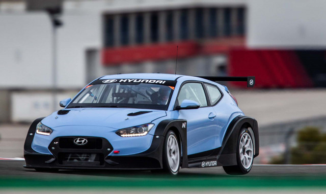 New Hyundai Veloster N TCR revealed at US motor show
