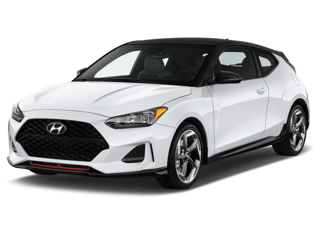 2019 Hyundai Veloster Turbo DCT Angular Front Exterior View
