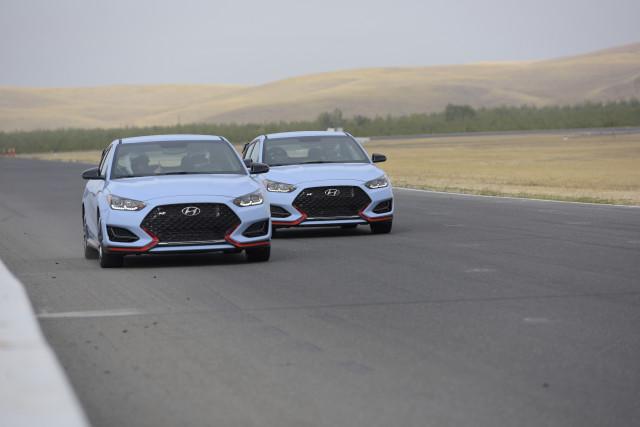 2019 Hyundai Veloster N media drive, Thunderhill Raceway Park, October, 2018