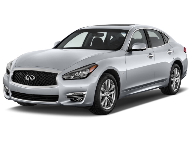 2019 INFINITI Q70 3.7 LUXE RWD Angular Front Exterior View