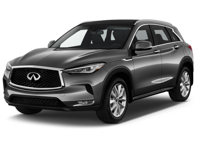 2019 INFINITI QX50 LUXE AWD Angular Front Exterior View
