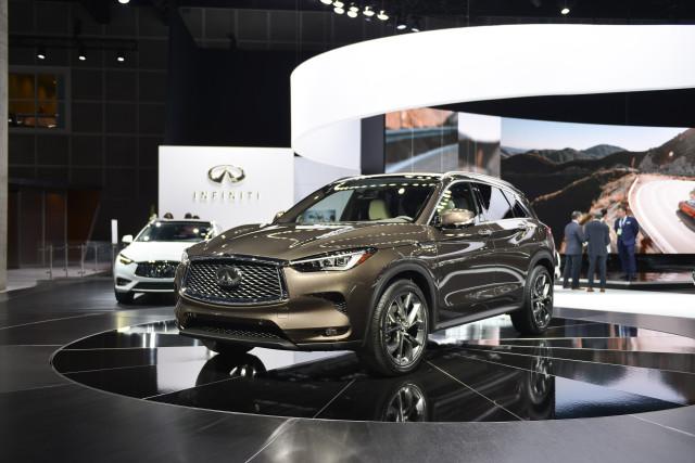 2019 Infiniti QX50, 2017 Los Angeles Auto Show