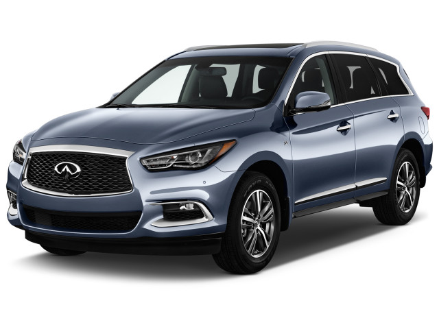2019 INFINITI QX60 PURE FWD Angular Front Exterior View