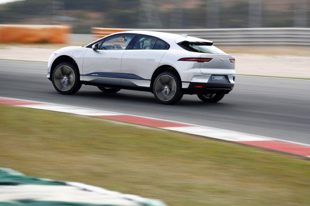 2019 Jaguar I-Pace electric car (crossover SUV)