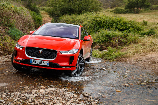 2019 Jaguar I Pace Electric Car Crossover Suv