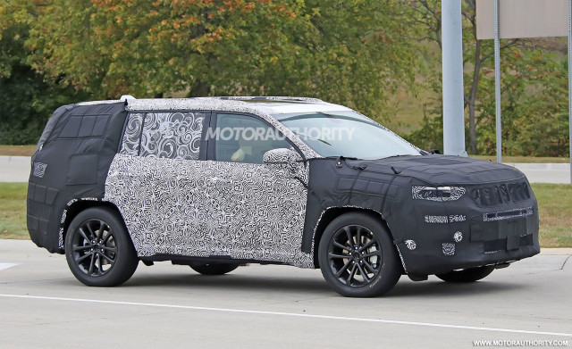 3 Row Jeep >> New Jeep 3 Row Crossover To Be Badged A Grand Commander Best Tech