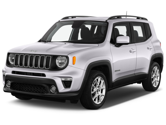 2019 Jeep Renegade Latitude FWD Angular Front Exterior View