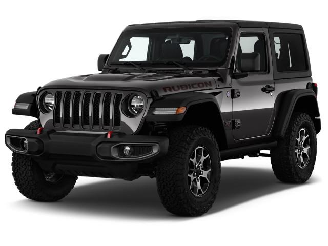 2019 Jeep Wrangler Rubicon 4x4 Angular Front Exterior View