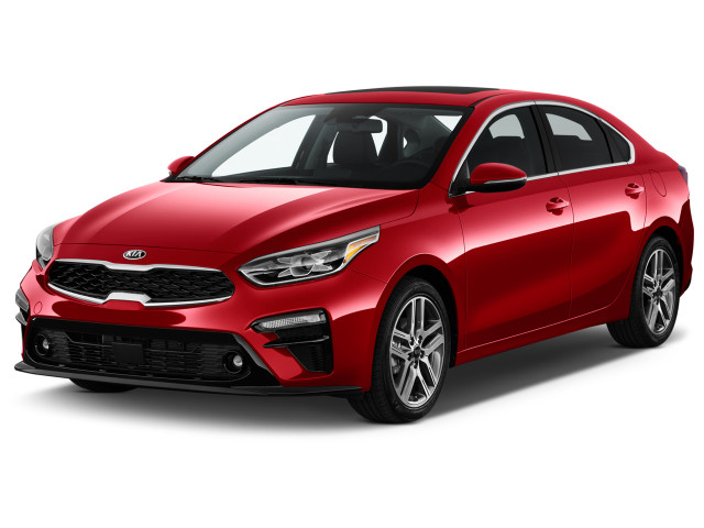 2019 Kia Forte EX IVT Angular Front Exterior View