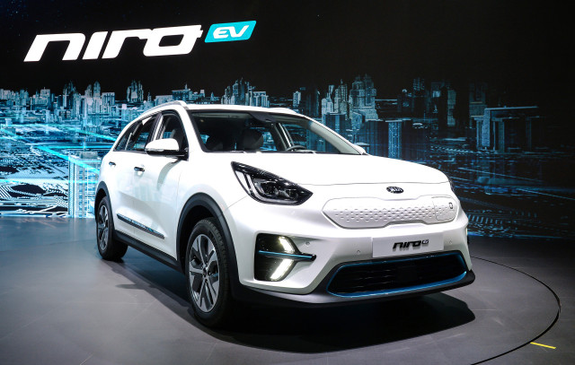 Kia unveils new Niro EV at Busan International Motor Show