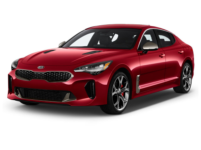 2019 Kia Stinger GT RWD Angular Front Exterior View