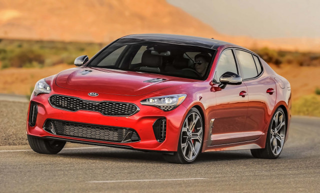2019 Kia Stinger earns Top Safety Pick+ award